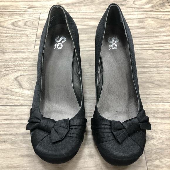 Brand Kohls Black Kitten Heel | Poshmark